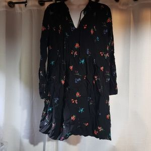 Old Navy floral Long sleeve Tunic Dress